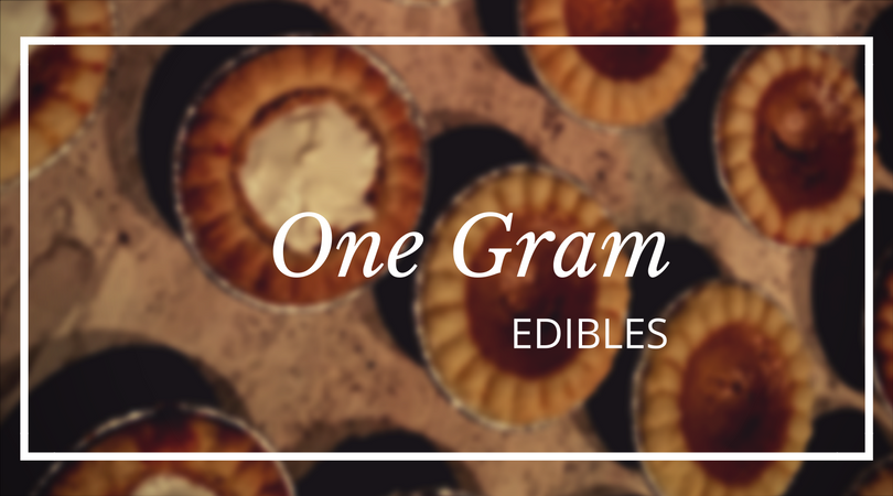 one gram cannabis edibles