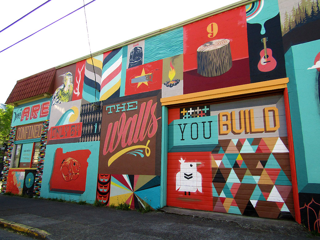 CannaCouple Portland Weekend Alberta Mural