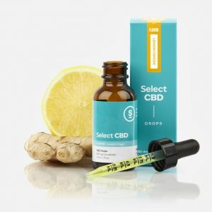 Select CBD lemon ginger